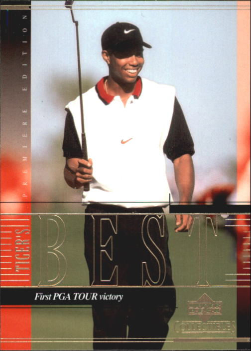 2001 Upper Deck Tiger Woods Collection #TWC9 Tiger Woods 1st PGA Victory