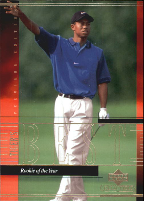 2001 Upper Deck Tiger Woods Collection #TWC10 Tiger Woods PGA ROY