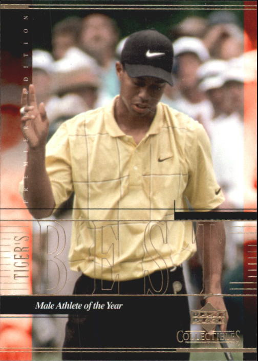 2001 Upper Deck Tiger Woods Collection #TWC11 Tiger Woods Male Athlete