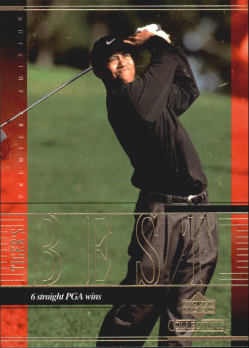 2001 Upper Deck Tiger Woods Collection #TWC14 Tiger Woods 6 Straight
