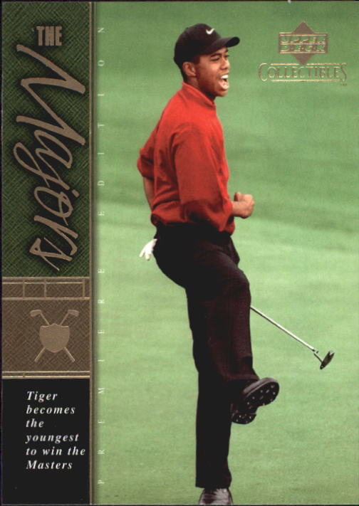 2001 Upper Deck Tiger Woods Collection #TWC17 Tiger Woods 1997 Masters