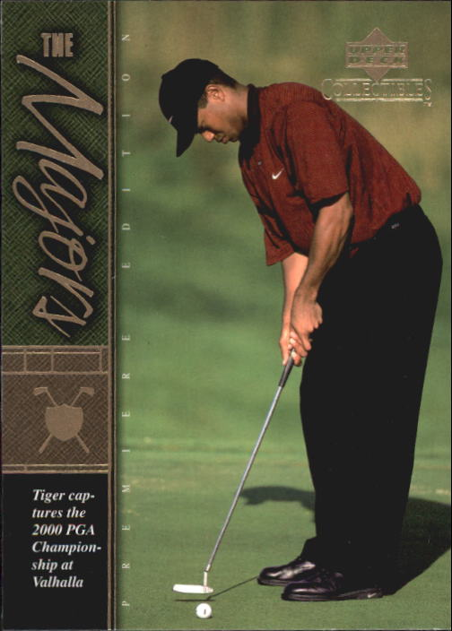 2001 Upper Deck Tiger Woods Collection #TWC21 Tiger Woods 2000 PGA