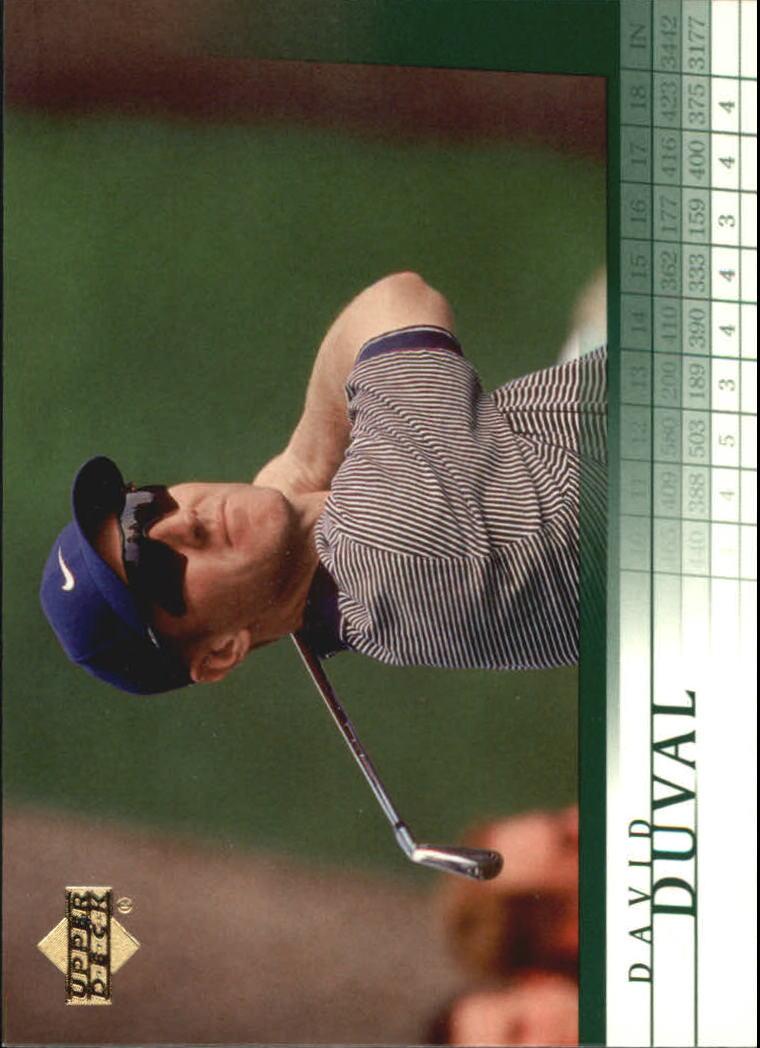 2001 Upper Deck #2 David Duval RC