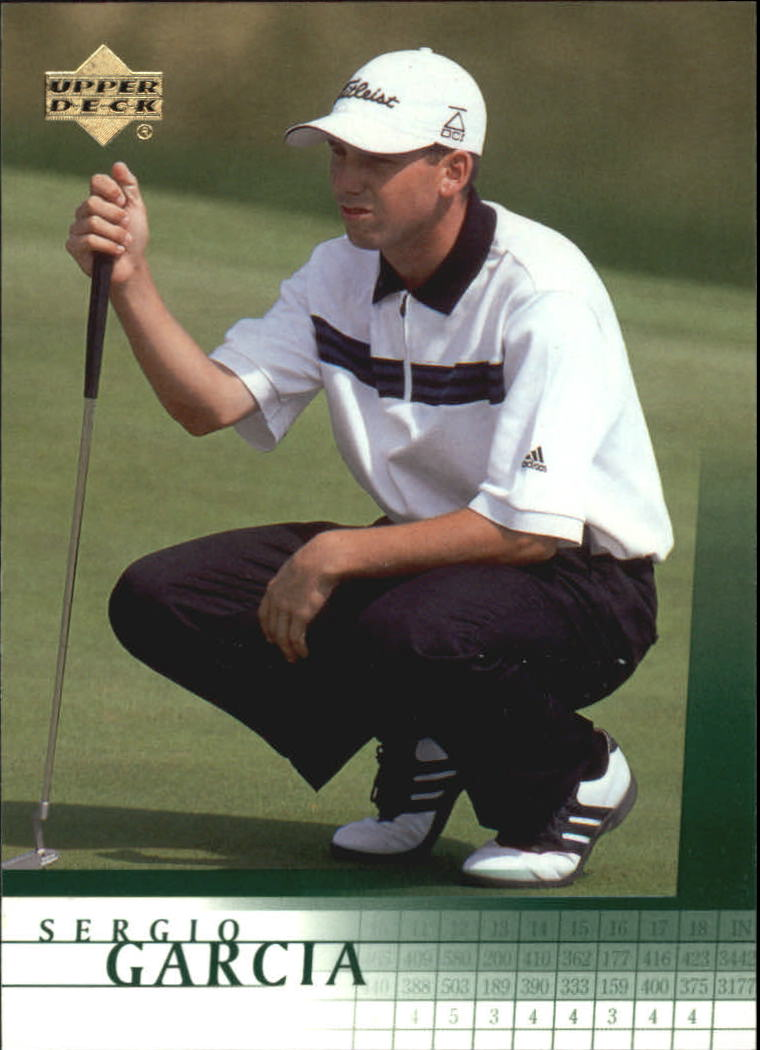 2001 Upper Deck #3 Sergio Garcia RC