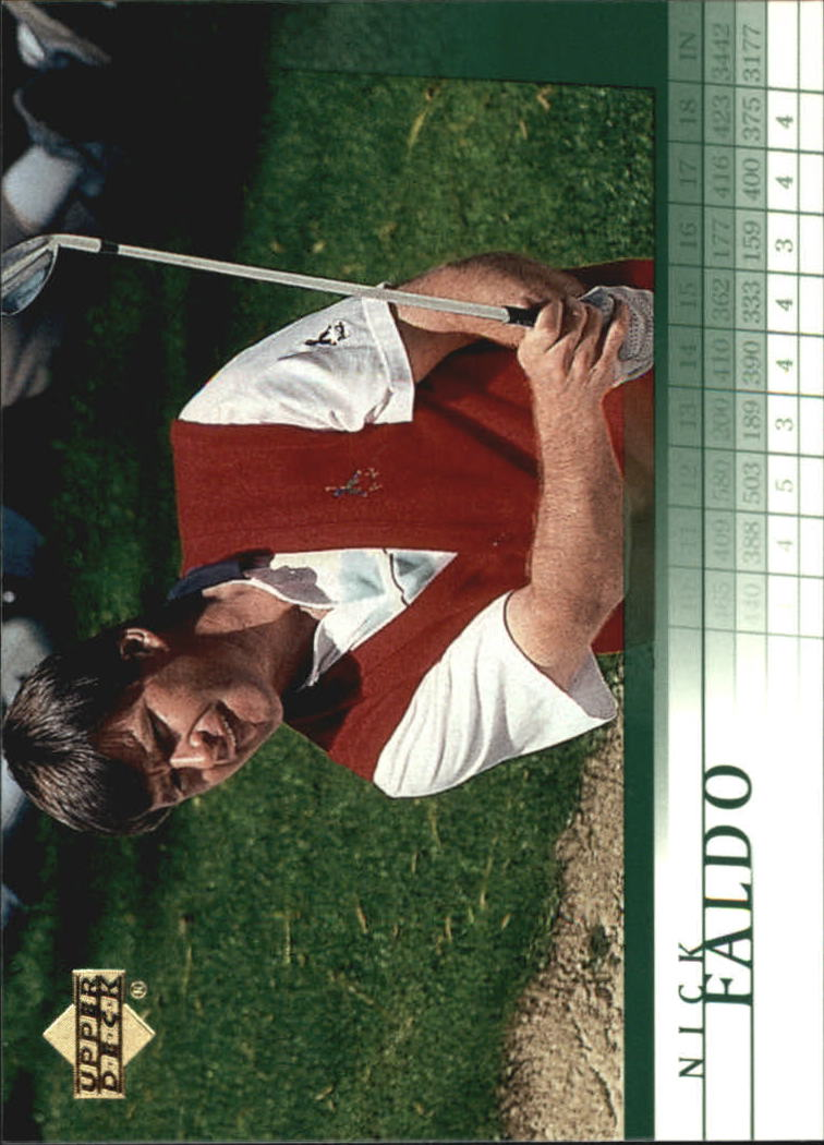 2001 Upper Deck #25 Nick Faldo