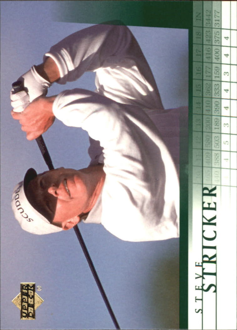 2001 Upper Deck #34 Steve Stricker RC
