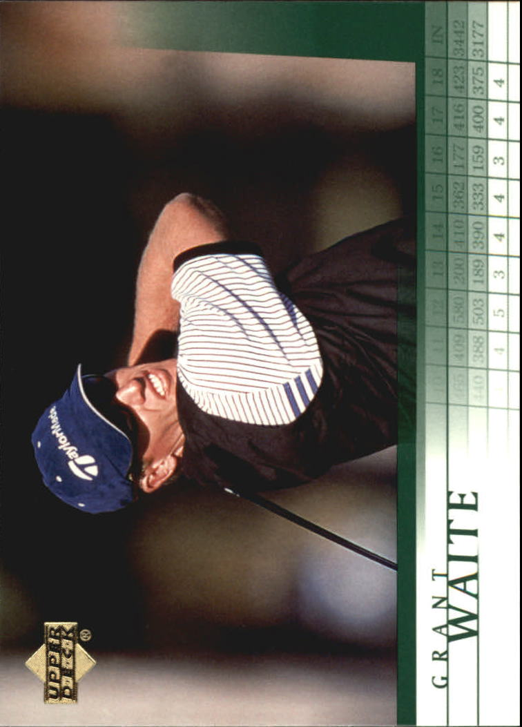 2001 Upper Deck #39 Grant Waite RC