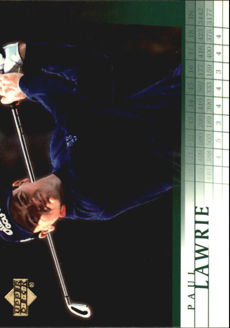 2001 Upper Deck #41 Paul Lawrie RC
