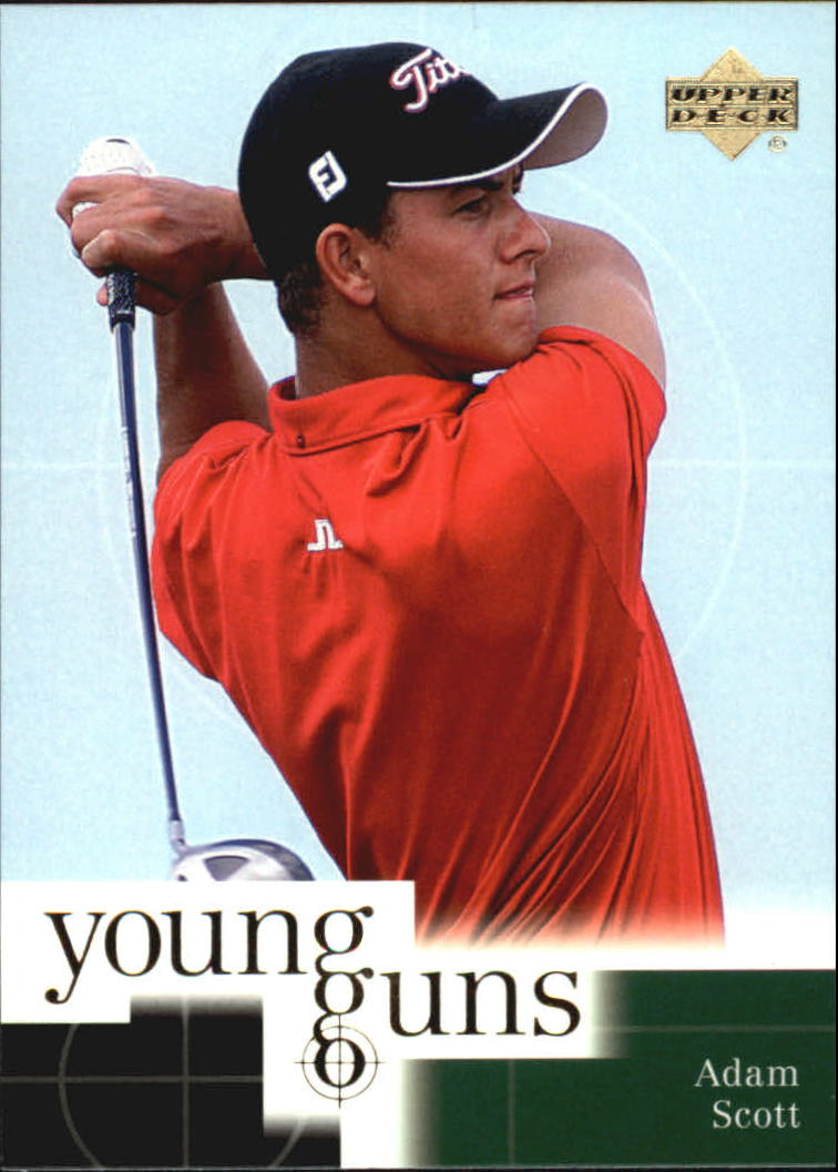 2001 Upper Deck #70 Adam Scott YG RC