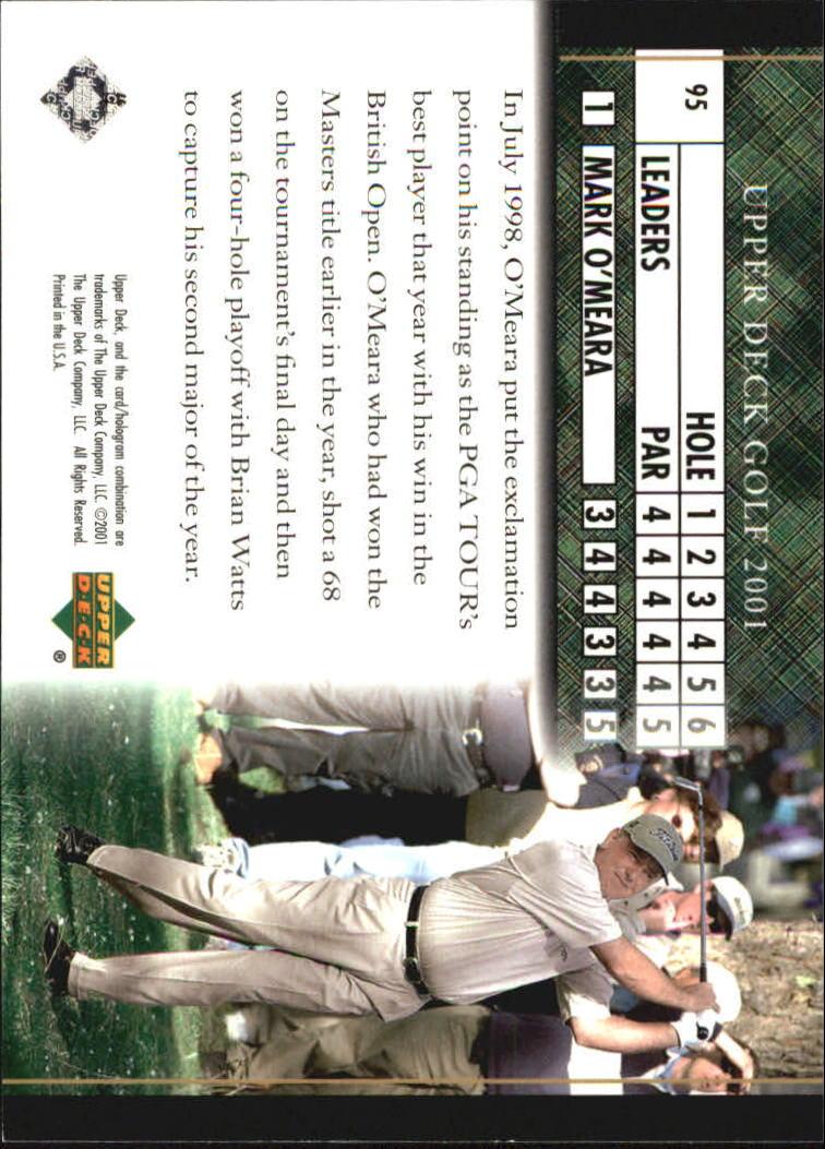 2001 Upper Deck #95 Mark O'Meara LB back image