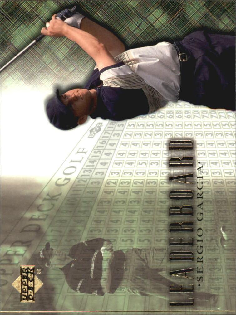 2001 Upper Deck #99 Sergio Garcia LB