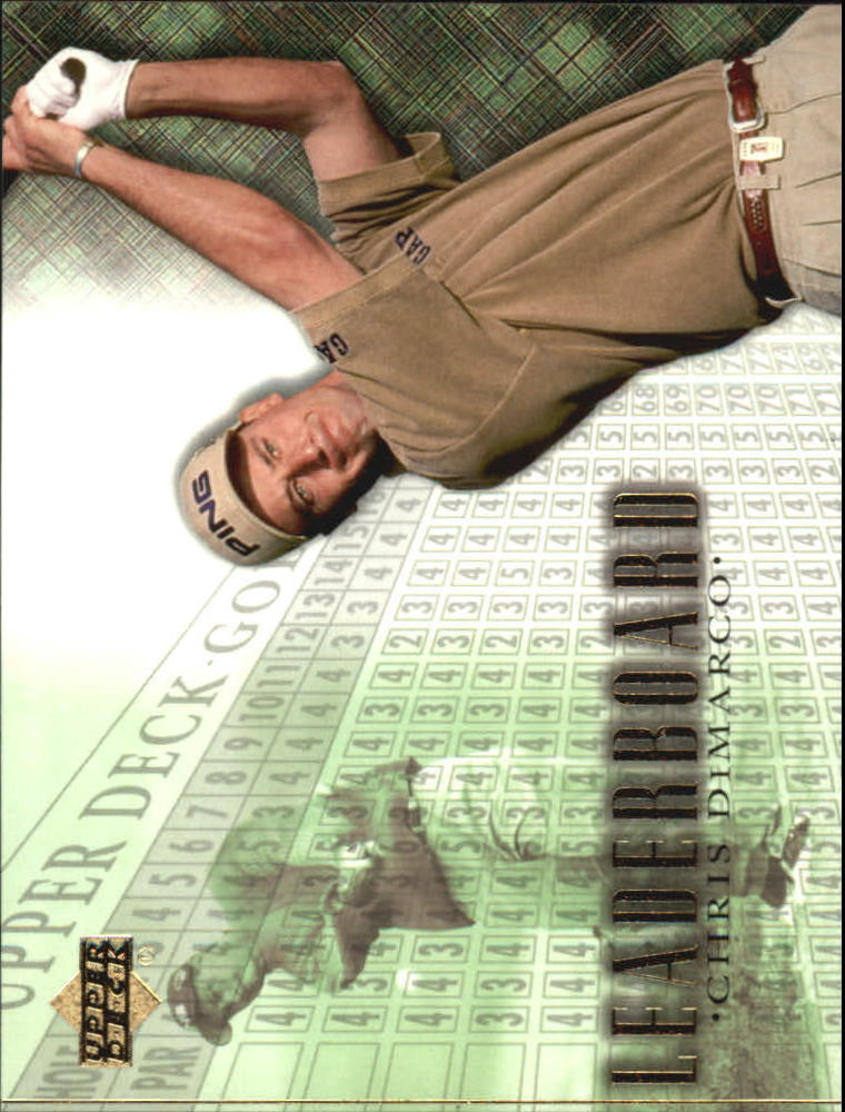 2001 Upper Deck #100 Chris DiMarco LB