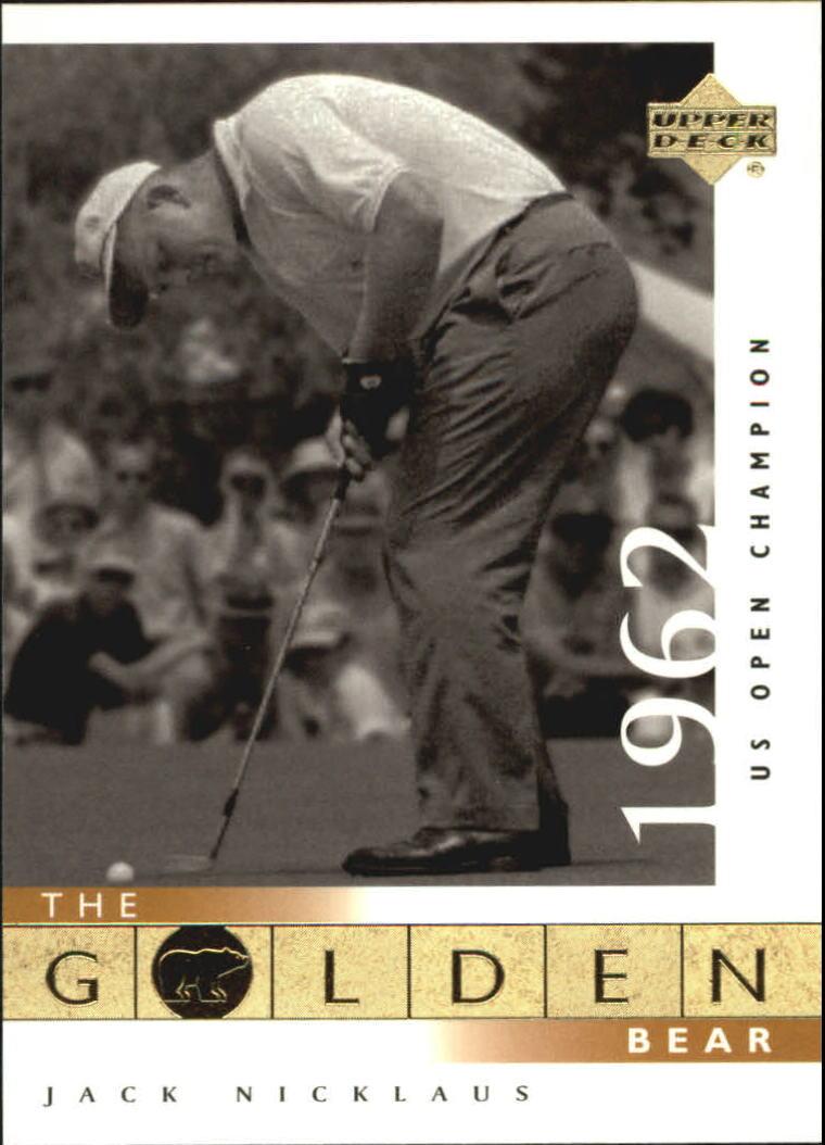2001 Upper Deck #106 J.Nicklaus GB 62 US Open
