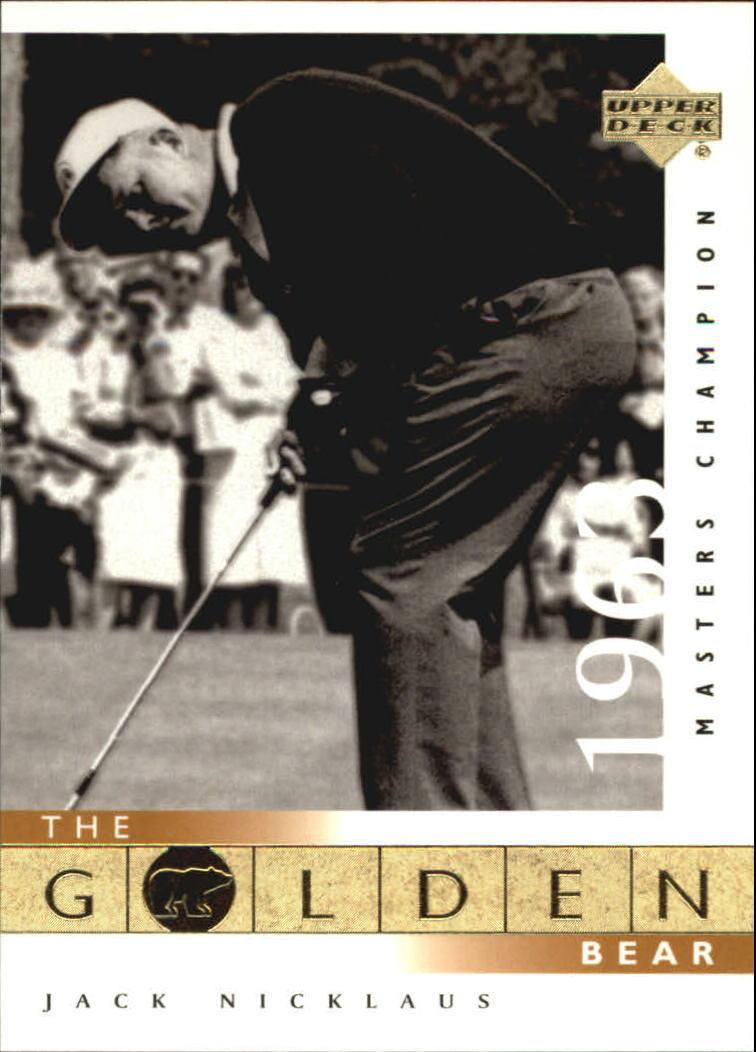 2001 Upper Deck #107 J.Nicklaus GB 63 Masters