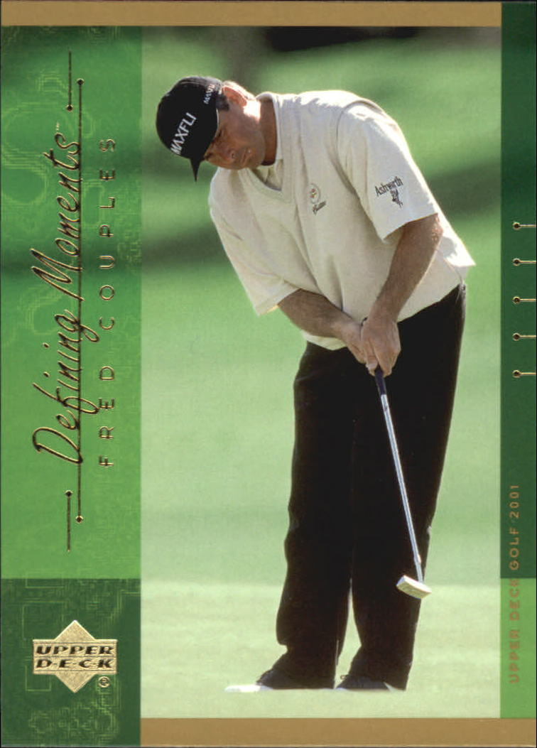 2001 Upper Deck #131 Fred Couples DM