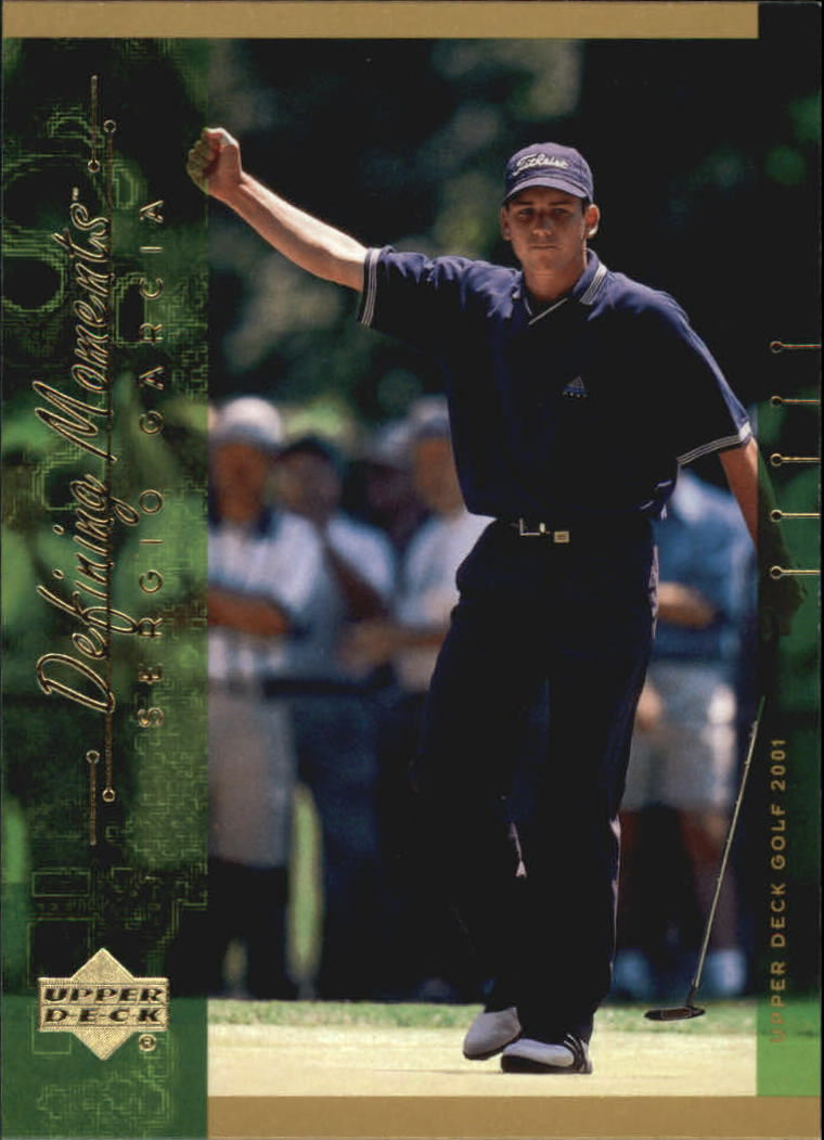 2001 Upper Deck #132 Sergio Garcia DM