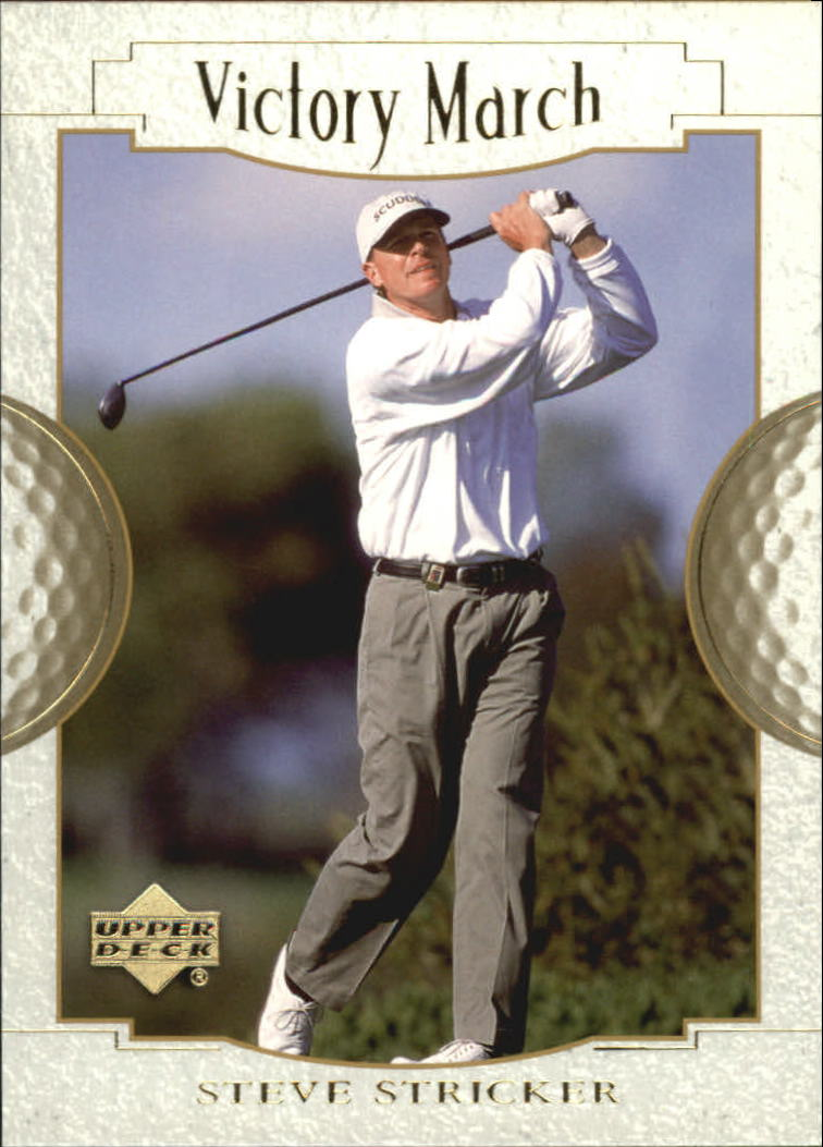 2001 Upper Deck #142 Steve Stricker VM