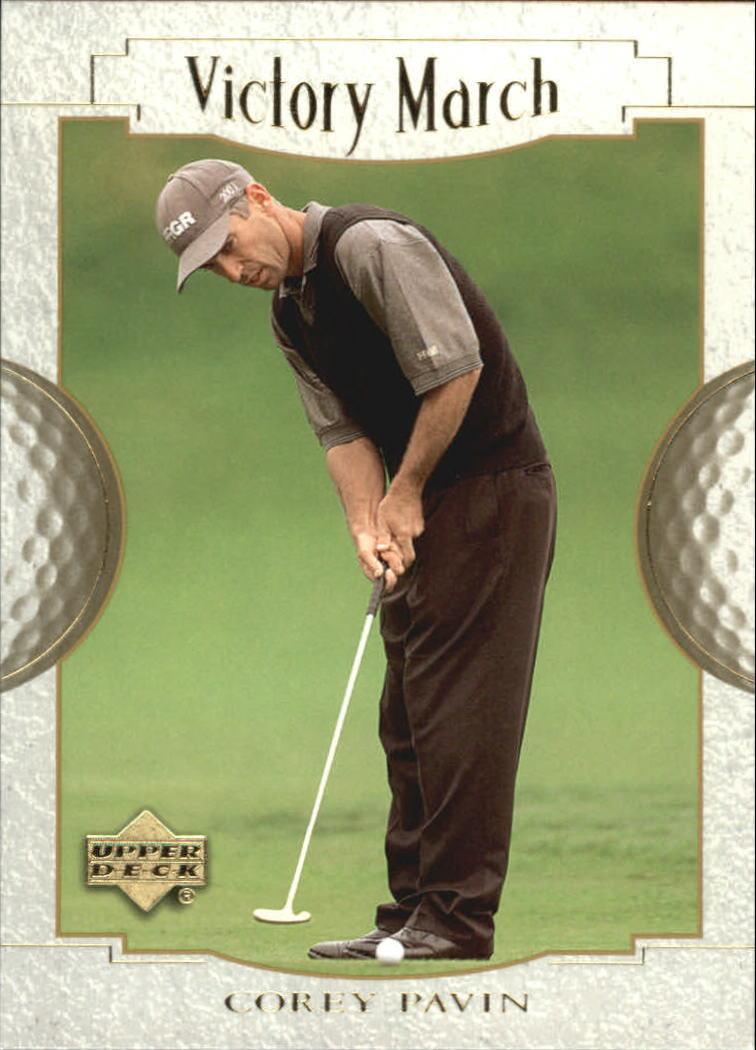 2001 Upper Deck #157 Corey Pavin VM