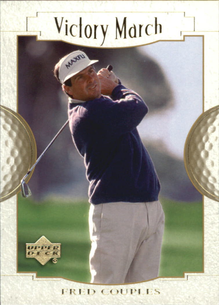 2001 Upper Deck #169 Fred Couples VM