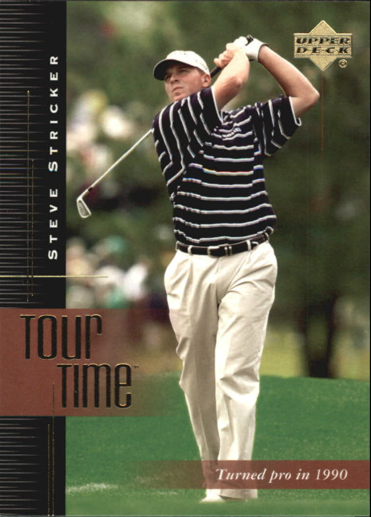2001 Upper Deck #180 Steve Stricker TT