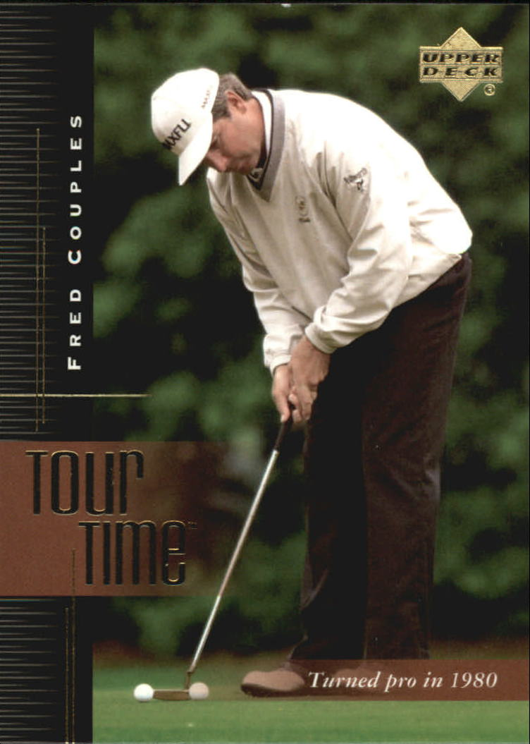 2001 Upper Deck #183 Fred Couples TT