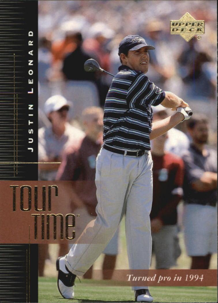 2001 Upper Deck #186 Justin Leonard TT