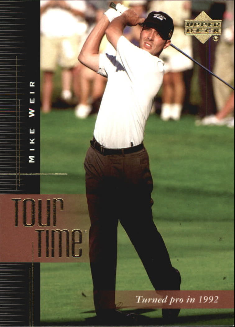 2001 Upper Deck #192 Mike Weir TT
