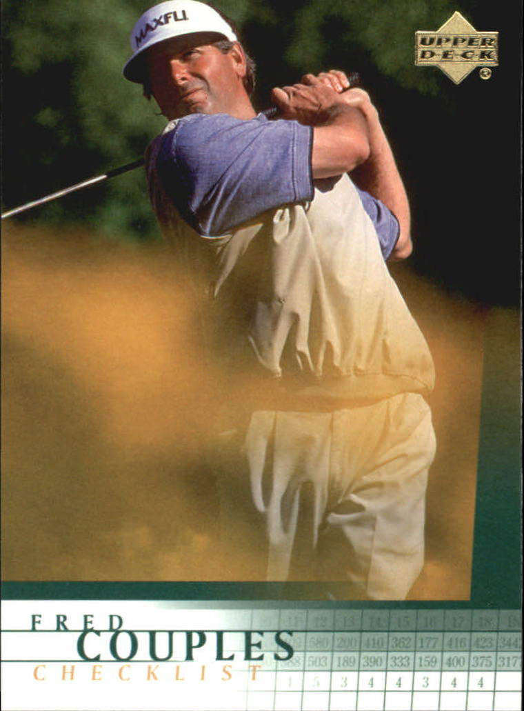 2001 Upper Deck #198 Fred Couples CL