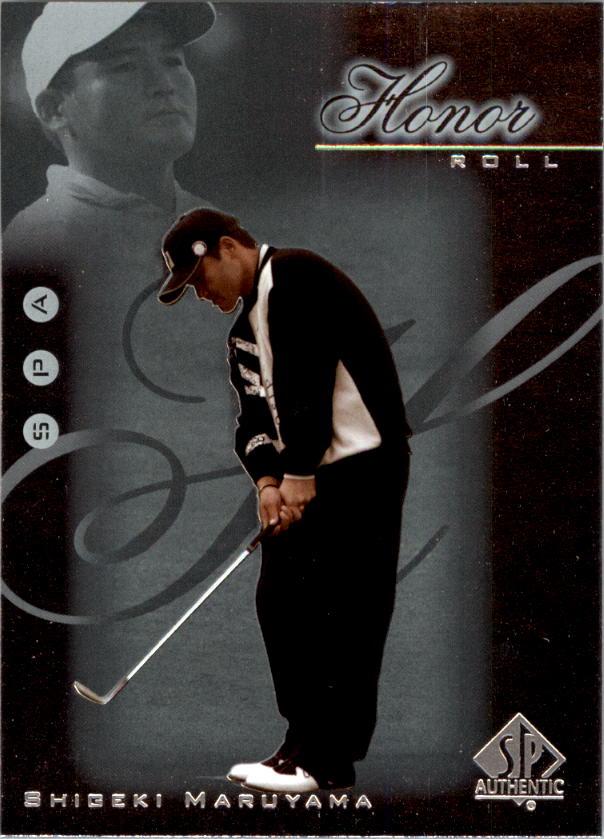 2001 SP Authentic Honor Roll #HR20 Shigeki Maruyama