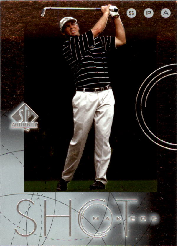 2001 SP Authentic Shotmakers #S8 Tom Lehman