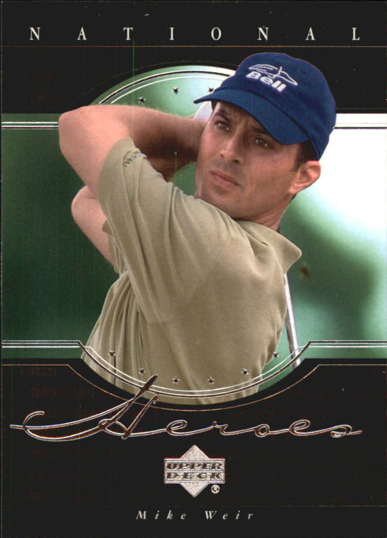 2001 Upper Deck National Heroes #NH5 Mike Weir