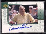 2001 Upper Deck Player's Ink #AP Arnold Palmer SP/75