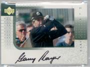 2001 Upper Deck Player's Ink #GP Gary Player