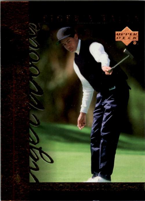 2001 Upper Deck Tiger's Tales #TT1 Tiger Woods