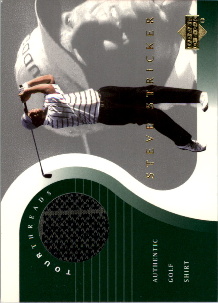 2001 Upper Deck Tour Threads #TTSS Steve Stricker