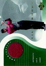2001 Upper Deck Tour Threads #TTTW1 Tiger Woods SP