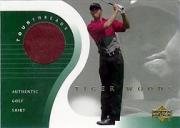 2001 Upper Deck Tour Threads #TTTW2 T.Woods Red SP *