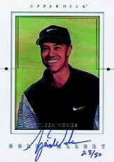 2001 Upper Deck Gallery Autographs #GGTW Tiger Woods