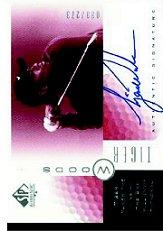 2001 SP Authentic Sign of the Times Red #TW1 T.Woods Bay Hill/273