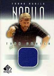 2001 SP Authentic Tour Swatch #FNTS Frank Nobilo