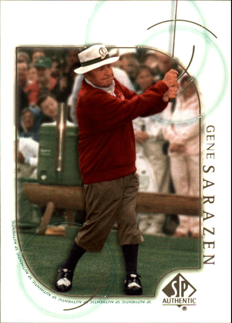 2001 SP Authentic #2 Gene Sarazen