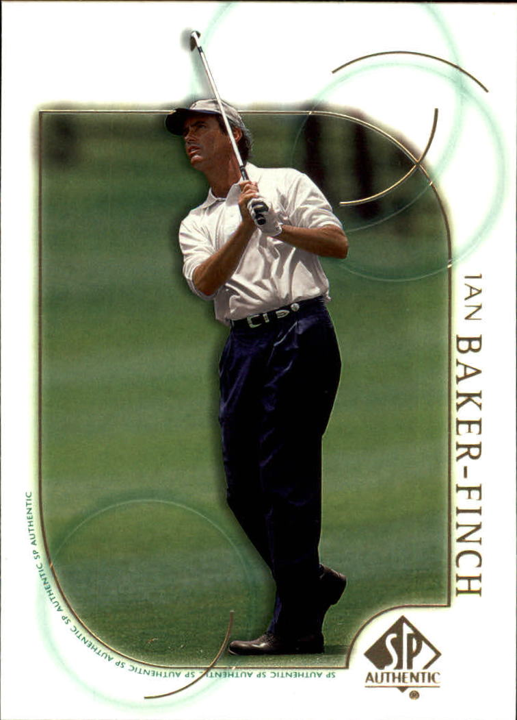 2001 SP Authentic #10 Ian Baker Finch
