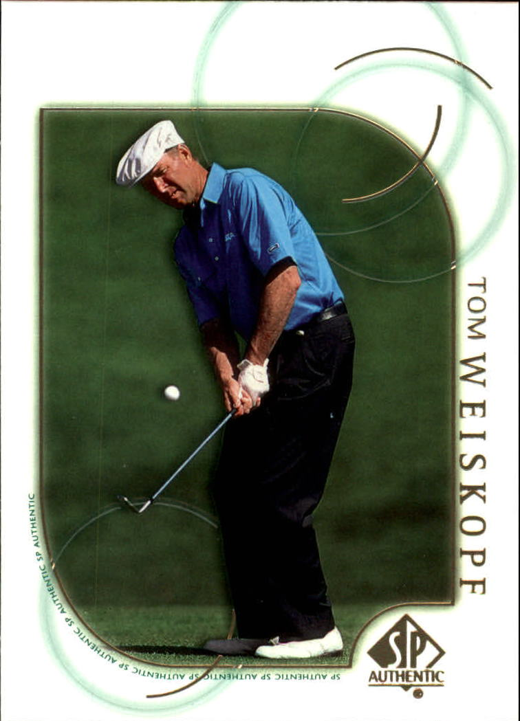 2001 SP Authentic #11 Tom Weiskopf