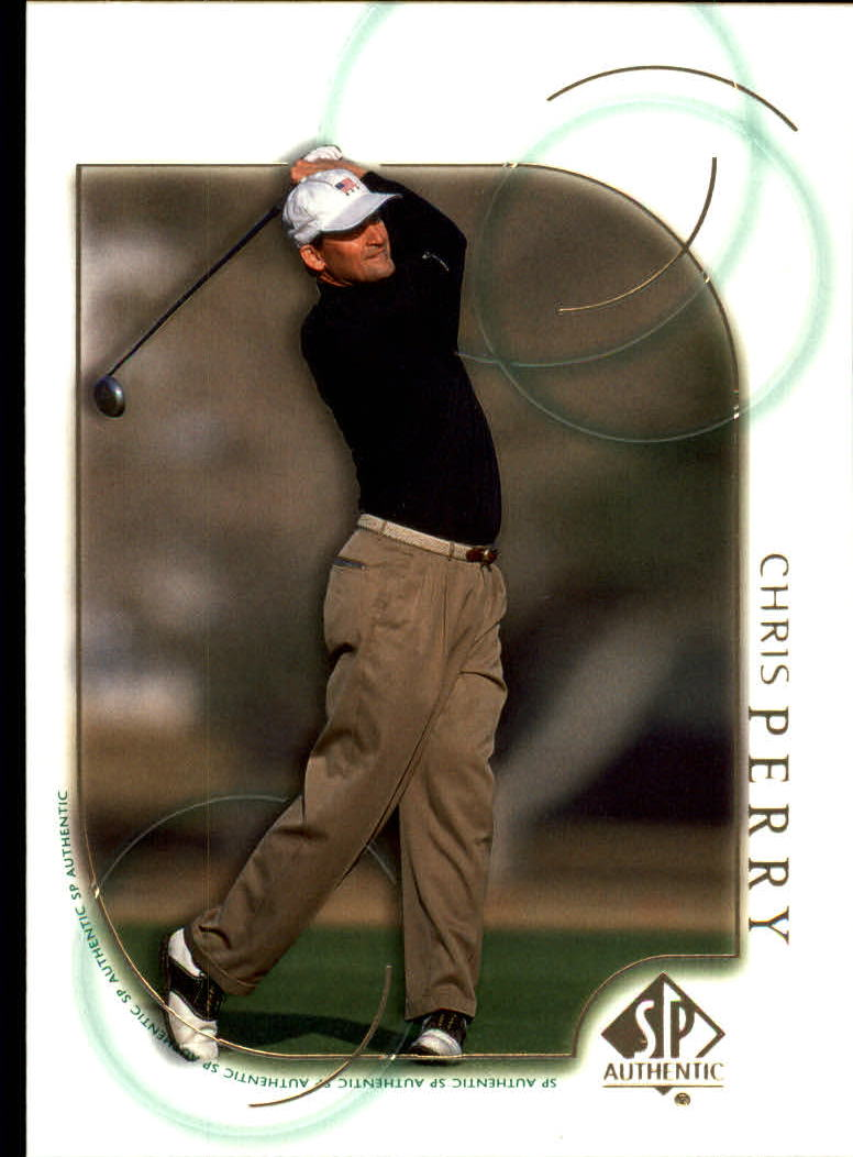 2001 SP Authentic #17 Chris Perry