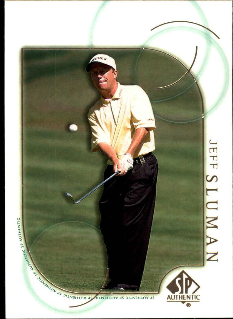 2001 SP Authentic #18 Jeff Sluman