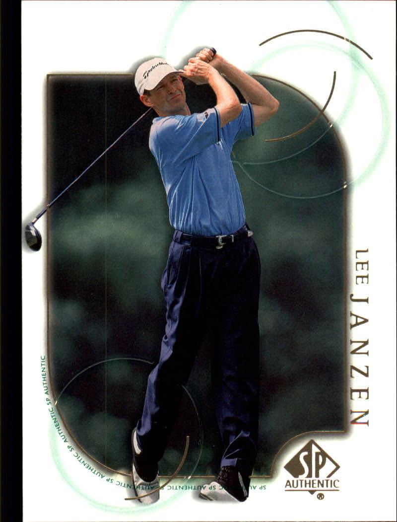 2001 SP Authentic #21 Lee Janzen