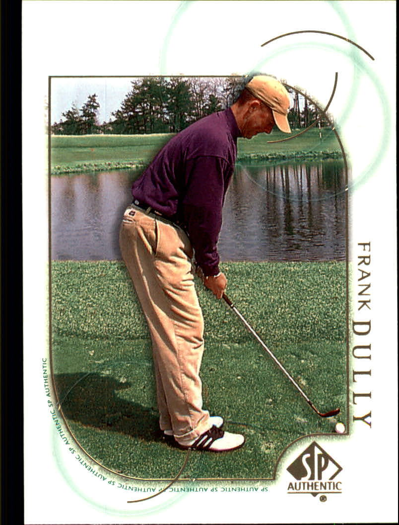 2001 SP Authentic #24 Frank Dully RC