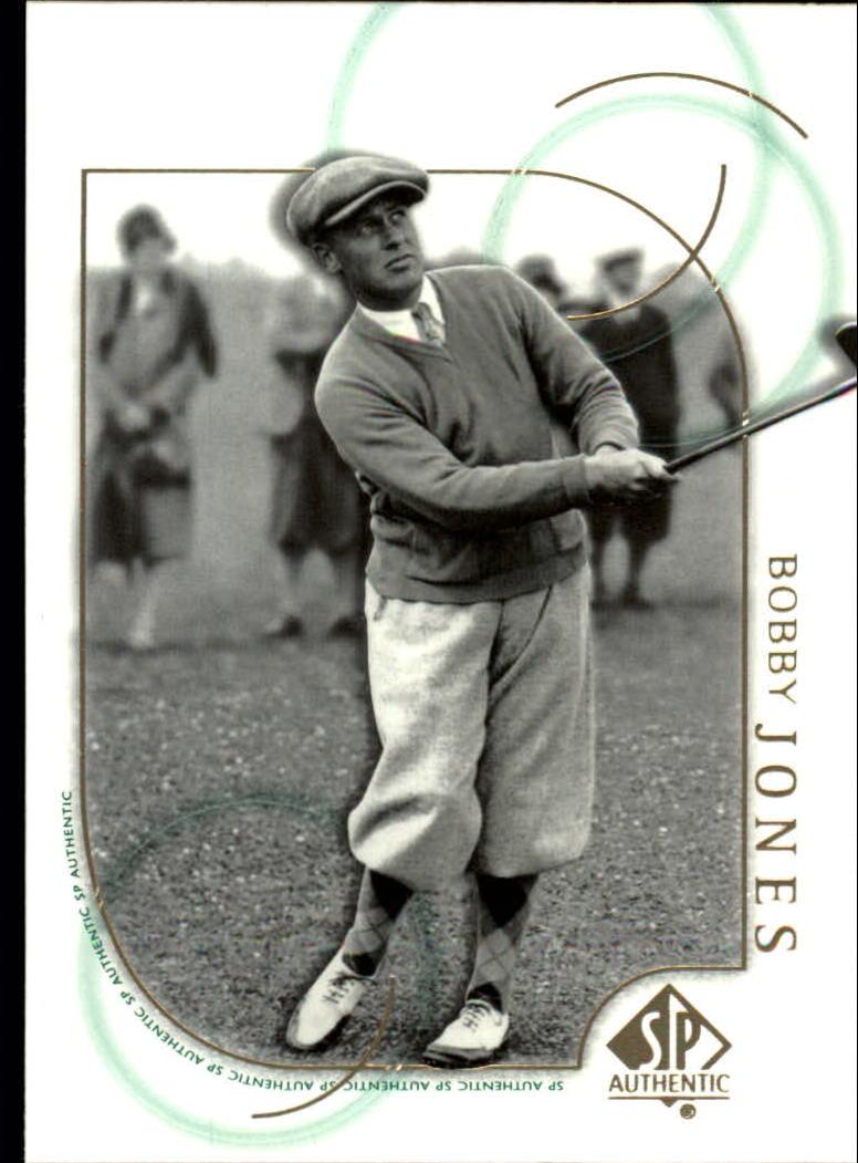 2001 SP Authentic #26 Bobby Jones