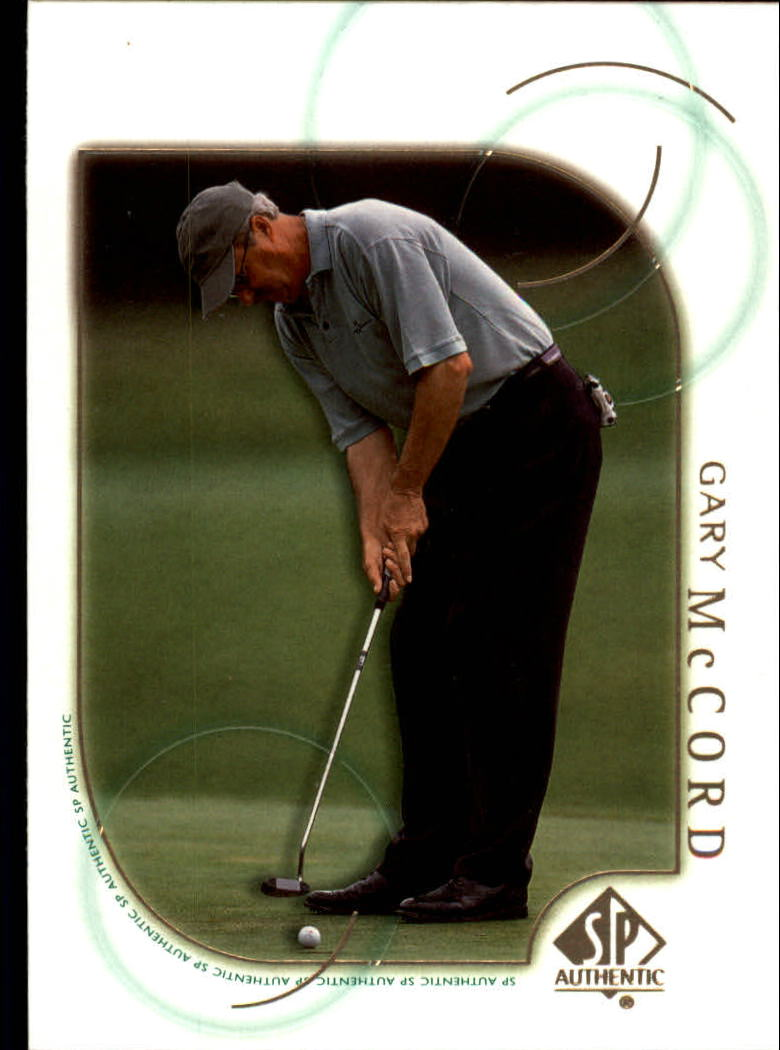 2001 SP Authentic #28 Gary McCord