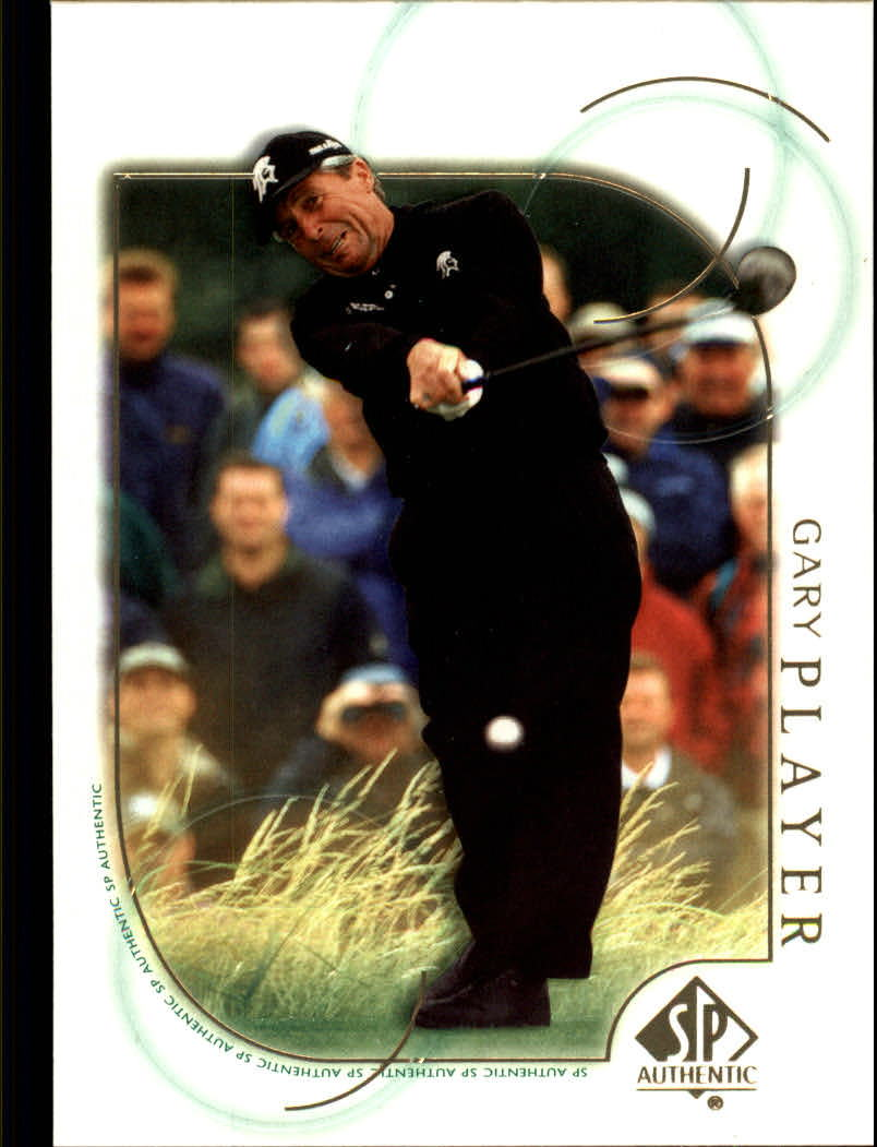 2001 SP Authentic #30 Gary Player